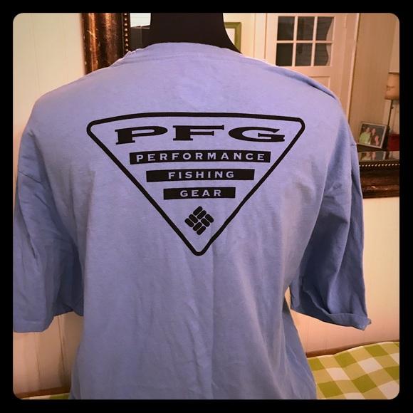fb893bb5f0d Columbia Shirts | Pfg Tshirt Mens Xlt Shirt Fishing | Poshmark